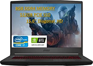 "2020 Premium MSI GF65 Thin 9SEXR-250 15.6"" 120Hz Gaming Laptop Intel i5-9300H RTX2060 8GB 512GB Nvme SSD Win10Home,with E...."