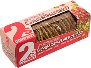 2s COMPANY Cranberry and Pumpkin Seed Crisps, 5.3 oz