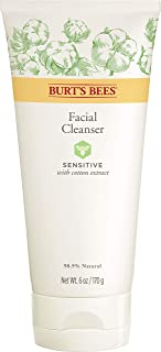 Burt's Bees Face Cleanser for Sensitive Skin - 6 Ounce, Pack of 1