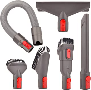 Attachment Flexible Hose Kit Compatible with Dyson V8 V7 V10 V11 Absolute Cordless,V7 Animal Trigger Motorhead Car+Boat,V10 Animal Motorhead Brush Accessories(Directly Connect,No Adapter Needed)