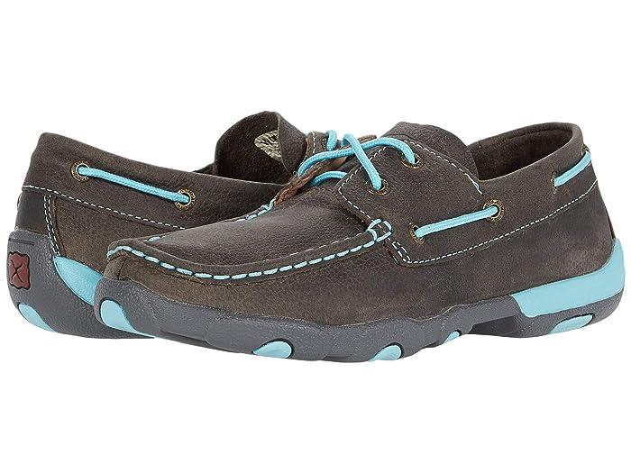 Twisted X  WDM0098 (Grey/Light Blue) Womens Shoes