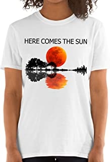 Harvey Martin Here Comes The Sun Guitar Graphic Unisex T-Shirt