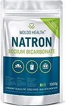 Natron Pulver in Lebensmittelqualität Natriumbicarbonat 1.000g - wiederverschließbarer Beutel