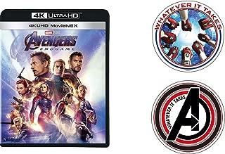 【Amazon.co.jp限定】アベンジャーズ/エンドゲーム 4K UHD MovieNEX [4K ULTRA HD+3D+ブルーレイ+デジタルコピー+MovieNEXワールド](オリジナルステッカーセット付き) [Blu-ray]