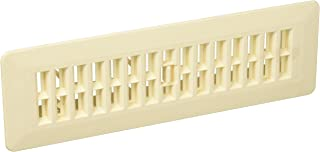 Decor Grates PL210-AL 2-Inch by 10-Inch Plastic Floor Register, Almond