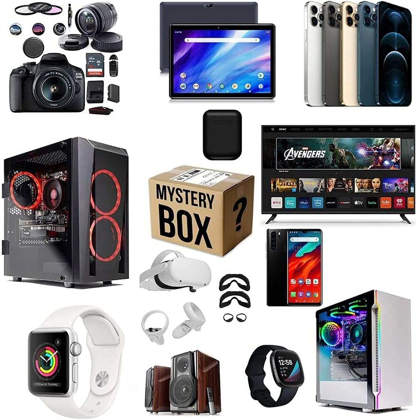 Lucky Box Mystery Boxes Ra Regular discount Mysteries Equipment Mail order Electronic