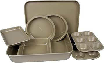 BERGNER BAKERIGHT PRO 8PC BAKEWARE SET CARBON STEEL, BG37032GD