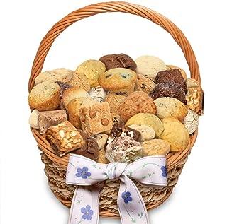 Simply Scrumptous Dozens of Delights Muffins, Brownies & Cookie Snacker Gift Basket