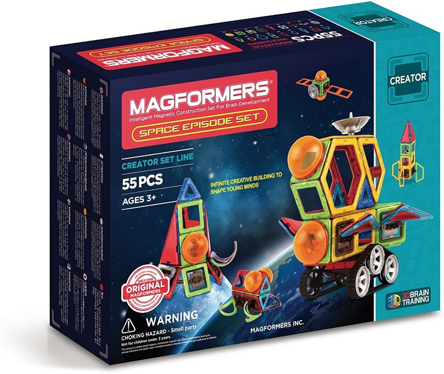 274-89 Magformers spazio Episode Set