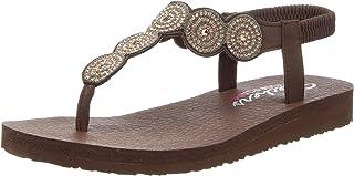 Skechers Women's Meditation-Stars & Sparkle Sandal