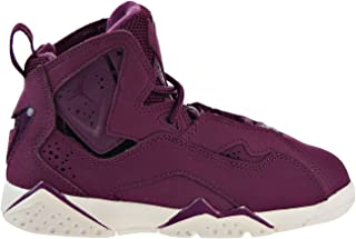 Jordan Nike Boy's True Flight Basketball Shoe (PS), Bordeaux/Bordeaux-Sail 13C