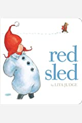 Red Sled Board book