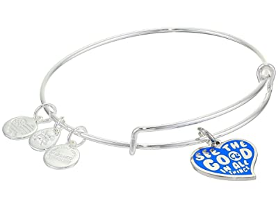 Alex and Ani Barbie Charm Bangle Bracelet (Silver/See the Good In All Things) Bracelet