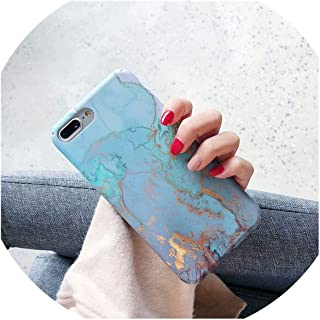 Hard PC Marble Case for iPhone Xs Max XR X 10 Fashion Green Leaves Full Cover Matte Phone Cases for iPhone 7 7plus 6s 6 8 Plus,11,for iPhone 7plus