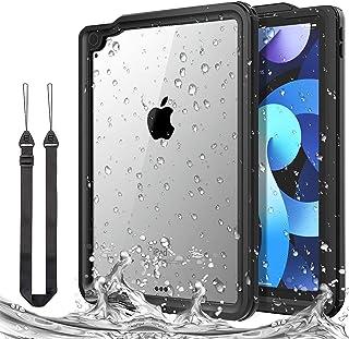 iPad Air 4 2020 防水ケース IP68最高規格 完全防水 iPad Air 第4世代 10.9インチ2020モデル専用防水保護カバー アイパッドカバー10.8インチ 軽量 薄型 ストラップ付き 耐震 防塵 耐衝撃 360度全面保護...