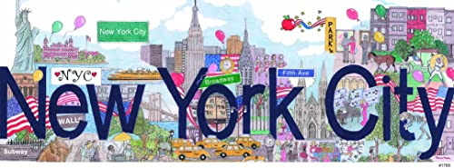 Andrews + Blaine New York City Panoramic Puzzle (1000-Piece) by Andrews + Blaine