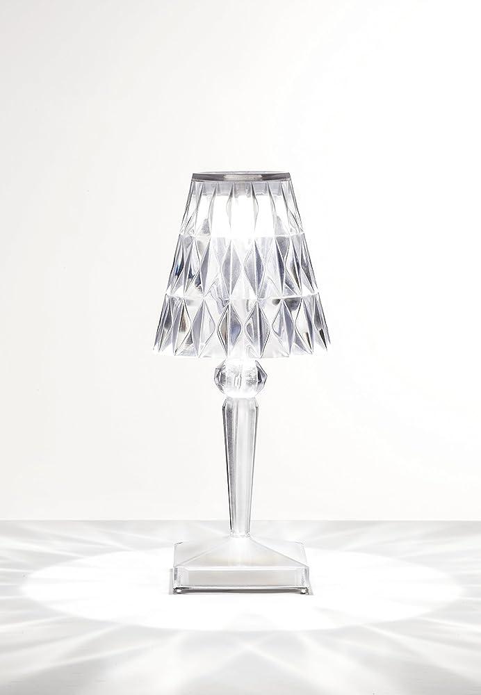 Kartell battery lampada da tavolo  trasparente(cristallo) 9140B4