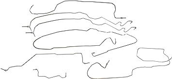 Brake Hydraulic Hose Rear Right Centric 150.80319