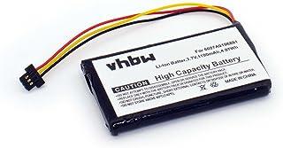 vhbw BATERÍA LI-Ion 1100mAh Compatible para Tomtom XL IQ, XL2 V4, 4ET0.002.02, 4ET03, Tomtom XL IQ Routes Edition sustituye el Modelo 6027A0106801