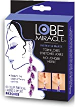 Lobe Miracle Ear Lobe Support Patches (60 Count)