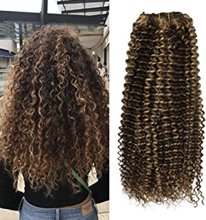 Best curly hair extensions real hair Reviews