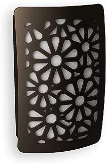 Westek NL-DPFL-DB Floral Deco Plug Night Light, Aged Bronze