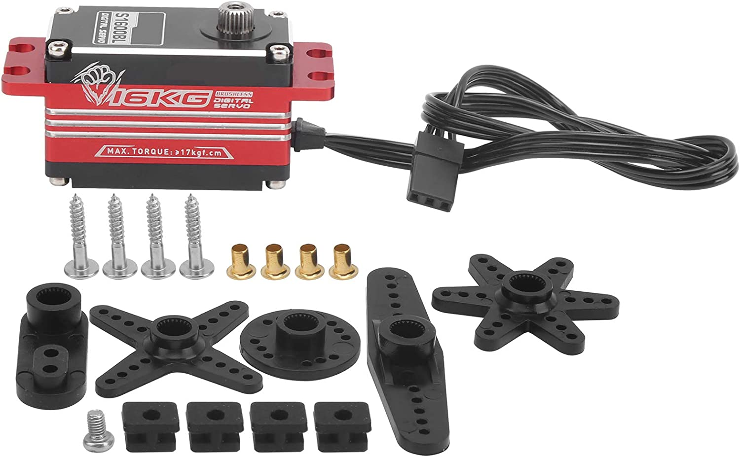RC Servo Easy Install Brushless trust Purchase Noise R Metal Low Gear