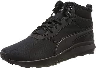 Puma Men's Hi-Top Trainers, Black Black Black 01, 6.5 us