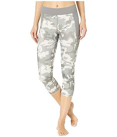 Roxy Take Me To the Beach Capri Pants (Charcoal Heather Darwin) Women