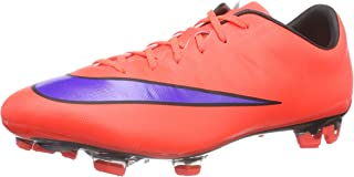 NIKE Mercurial Veloce II FG Football Boots red/Purple/Black