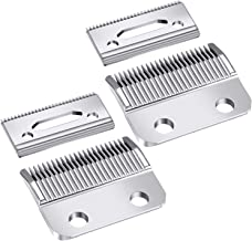 2 Sets Adjustable Clippers Blades, 2 Hole Hair Trimmer Replacement Blade for Wahl 1006, Super Taper #8400