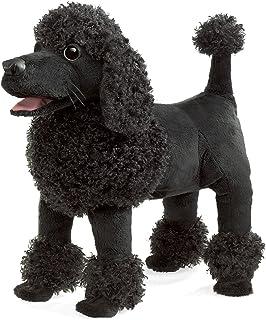 "Folkmanis Poodle Hand Puppet, 8"", Black"