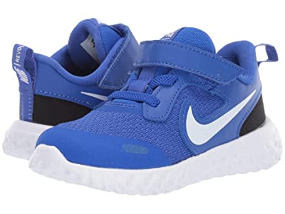 Nike Kids Revolution 5 (Infant/Toddler) (Racer Blue/White/Black) Boys Shoes