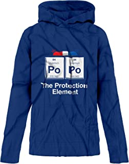 BSW Youth Boys Po Po The Protection Element Periodic Cop Police Hoodie