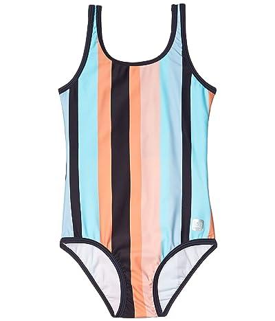 reima Swimsuit Sumatra (Toddler/Little Kids/Big Kids) (Light Turquoise 2) Girl