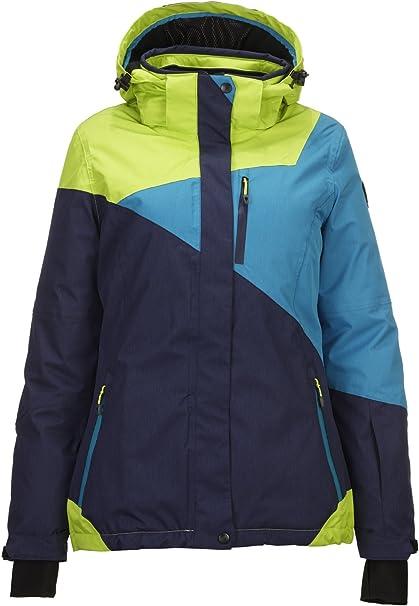 Killtec Funktionsshirt Langarmshirt Ski Stehkragen /& Rei/ßverschlu/ß agna Jr 29432