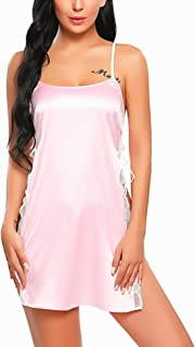 Best pink satin babydoll Reviews