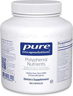 Pure Encapsulations - Polyphenol Nutrients - Hypoallergenic Nutrient Dense Multivitamin/Mineral Formula - 180 Capsules