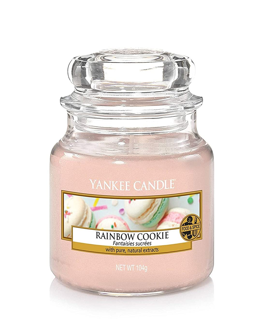 深遠アジア人グリットYankee Candle Rainbow Cookie Small Jar