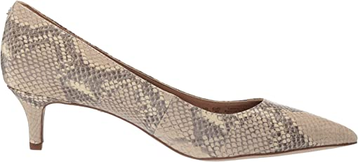Wheat Multi Exotic Snake Print Leather