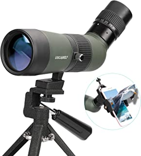 USCAMEL Spotting Scope with Tripod, FMC Optical Lens Angled Scopes for Target Shooting Hunting Astronomy Bird Watching Wat...