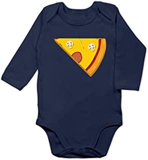 Shirtracer Partner-Look Familie Baby - Pizza Partner Teil 2 - Baby Body Langarm