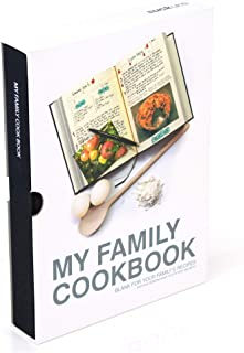 Uk   My Family Cookbooks   Kitchen Binder   DIY Recipe Books   Food Journal   Healthy Diet & Cooking Diary   Red   Hard Ba...