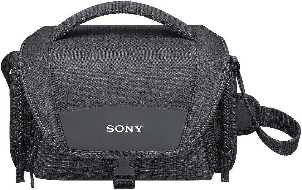 Sony LCSU21B.SYH - Bolsa de Transporte para cámara/videocámara Color Negro