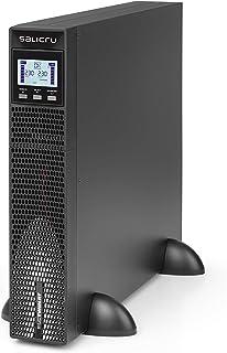 Salicru SLC Twin RT2 SAI On-Line Doble conversión Torre/Rack de 700 VA a 10.000 VA con FP=1 - Fuente de alimentación Continua (UPS) (3000 VA, 3000 W, 110 V, 300 V, 200 V, 240 V)