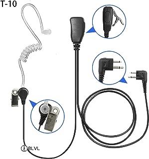 BLVL 2 Pin Earphone Headset for Motorola Mag One GP68 GP88 GP300 GP2000 GP3188 CP200 CP185 CP180 CP150 EP450 A6 A8 A10 A11 A12 Portable Radio