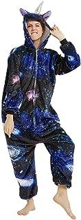 Unicorn Onesie Women Adult Pajama Halloween Christmas Animal Costume