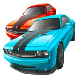 Cool race car games for kids free: Drive your cool car through highway traffic