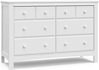 Graco Benton 6 Drawer Dresser (White) – Easy New Assembly Process, Universal Design, Durable Steel Hardware and Euro-Glide Drawers with Safety Stops, Coordinates with Any Nursery