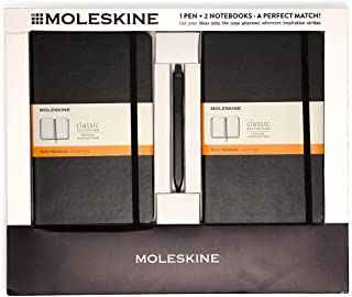 Best moleskine 2 classic notebooks and click pen black Reviews